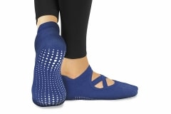 SLA Active Grip Socks Blue