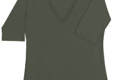 V_Neck_ElbowSleeve_Olive_FV005-001